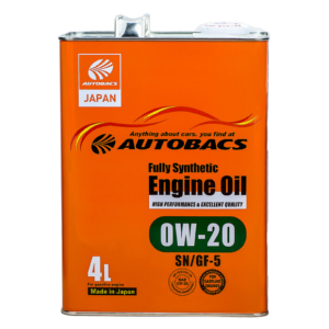 Autobacs_Engine_Oil_FS_0W20_SN_4l
