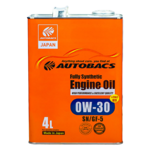 Autobacs_Engine_Oil_FS_0W30_SN_4l