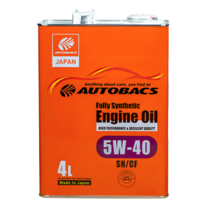 Autobacs_Engine_Oil_FS_5W40_SN_4l